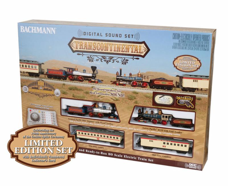 TRANSCONTINENTAL WITH DIGITAL SOUND - LIMITED EDITION (HO SCALE)