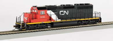 Canadian National #6136 - SD40-2