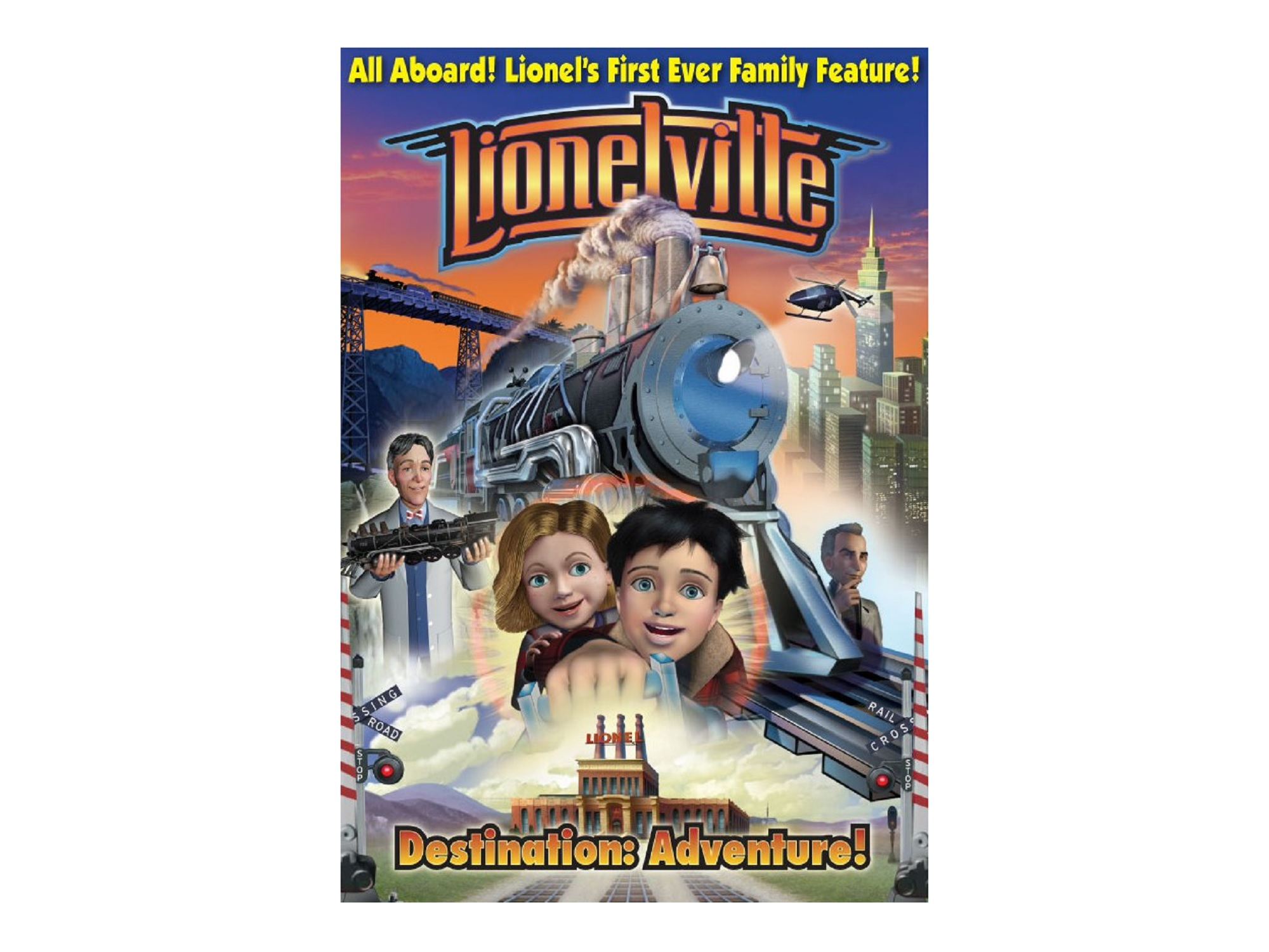 6-35526 LIONELVILLE DESTINATION: ADVENTURE! DVD