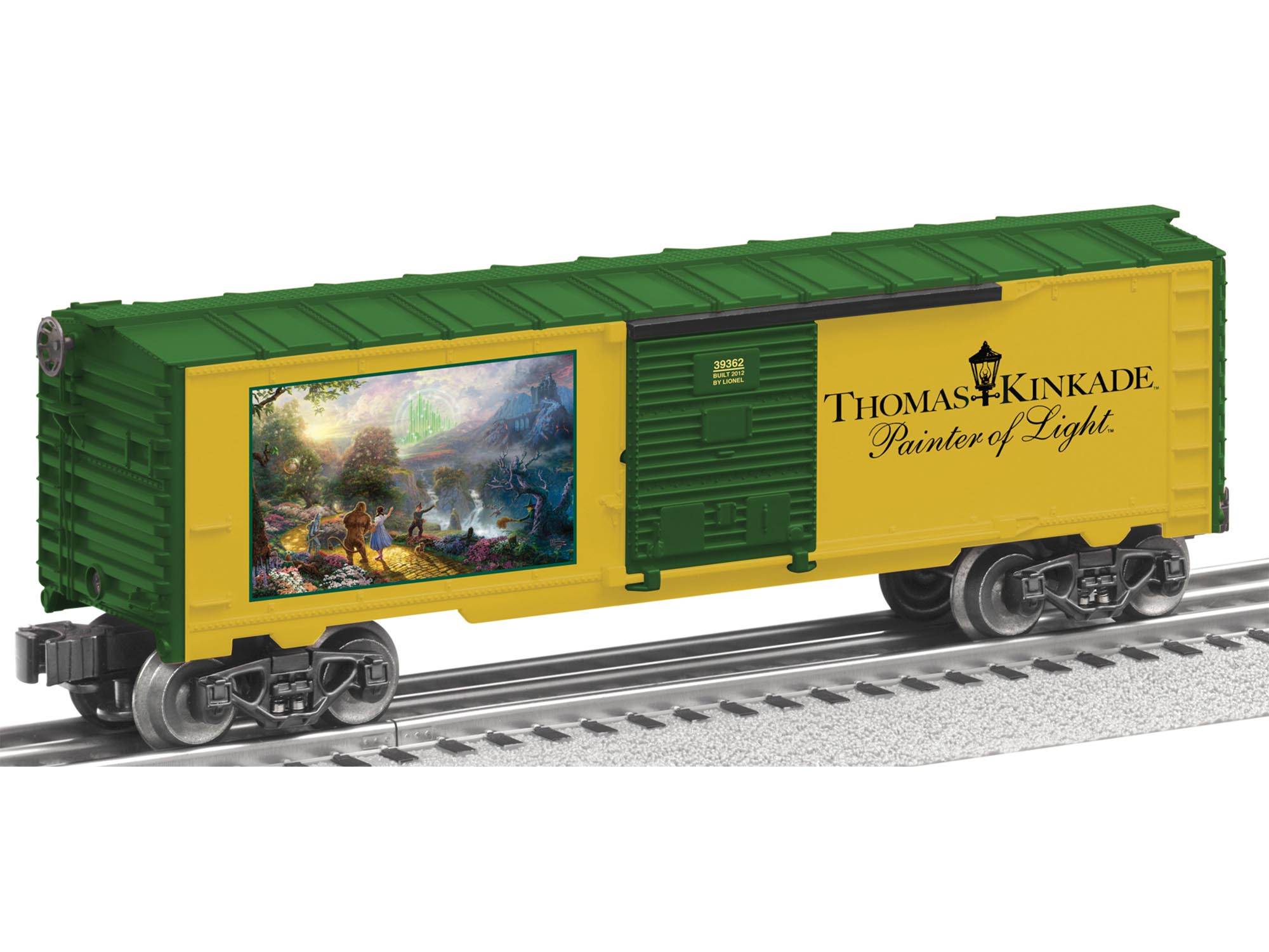 6-39362 THOMAS KINKADE EMERALD CITY BOXCAR