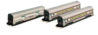 Canadian Pacific - 60' Aluminum Streamliners (Baggage & 2 Coach